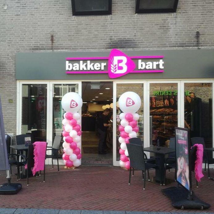 De ingang van Bakkerij Bart in Oosterhout.