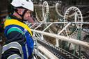 De Python werd eerder dit jaar herbouwd, onder meer omdat de achtbaan een icoon is in de Efteling.
