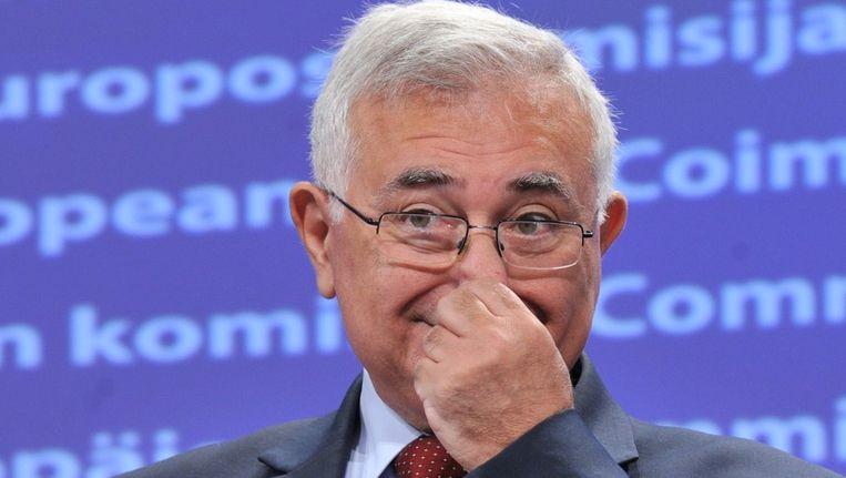 Eurocommissaris John Dalli. Beeld afp