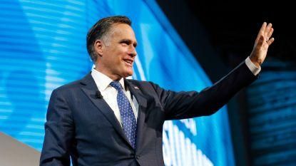 Vroegere presidentskandidaat Mitt Romney doet gooi naar Senaatszetel