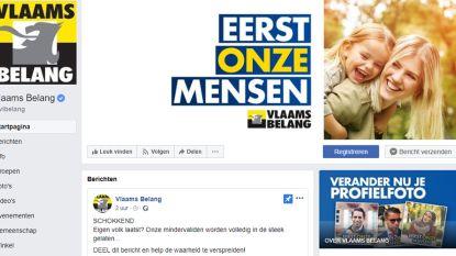 Niet N-VA, maar wel Vlaams Belang is de grootste partij op Facebook