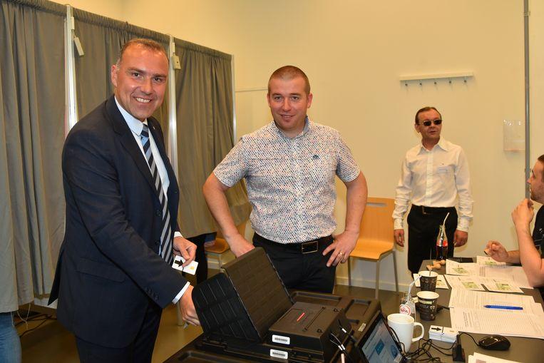 Tim Vandenput gaat stemmen in Hoeilaart.