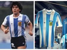 Kostbaar shirt van Maradona in Twentse handen: 'De maat van Pluisje, dat kan niet missen!'