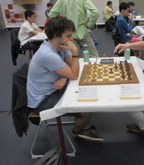 Leenhouts en L'Ami aan kop in Open NK schaken