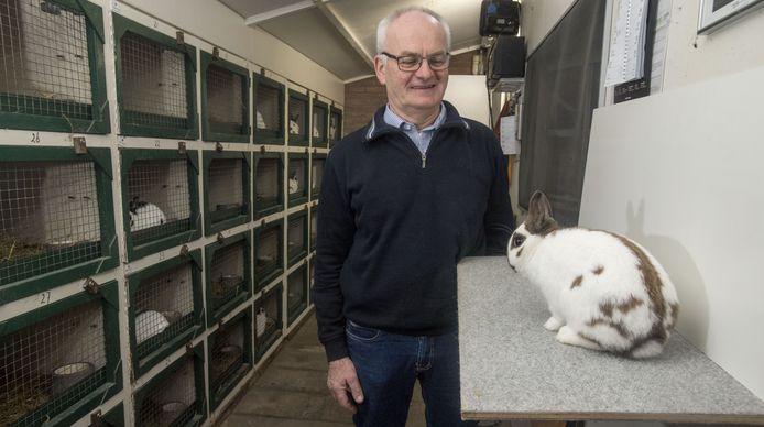 Henk Grievink met één van zijn topdieren.