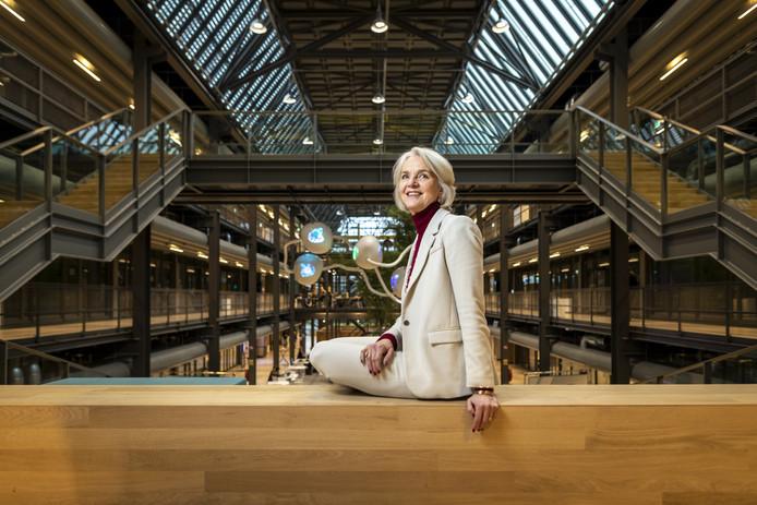 Heleen Miedema, founding mother van de studie technische geneeskunde, is blij dat het nieuwe beroep nu officieel wordt erkend.