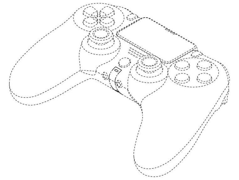 Zo kan de controller van de nieuwe PlayStation 5 eruitzien.