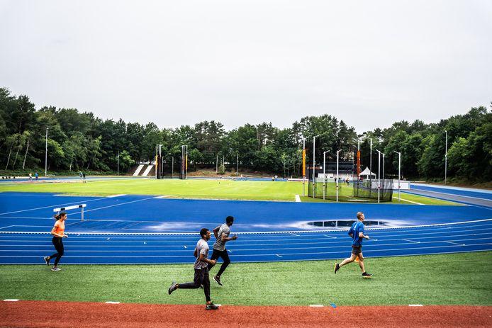 Sportcentrum Papendal in Arnhem, waar veel topsporters uit de regio bij elkaar komen.