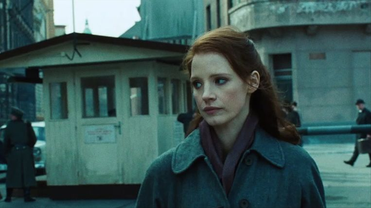 Jessica Chastain in The Debt van John Madden. Beeld