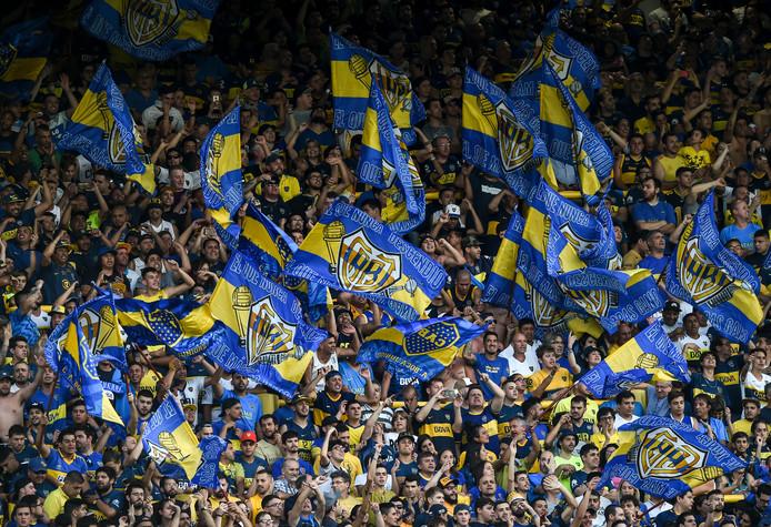 Fans van Boca Juniors