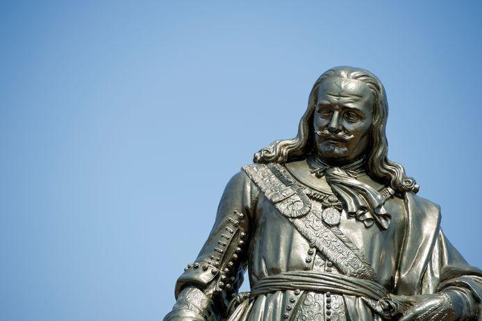 Het beeld van Nederlands bekendste admiraal, Michiel Adriaenszoon de Ruyter in Vlissingen.