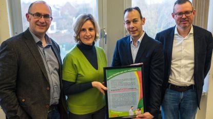 Gemeente ontvangt prijs voor 'buurtsupervriendelijke gemeente'