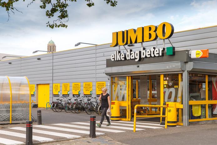 De Jumbo aan de Zwolse Veemarkt.