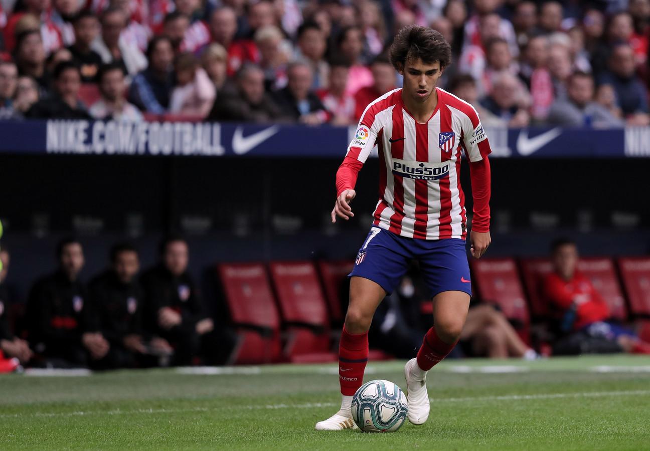 João Félix ontbreekt bij Atlético Madrid door een blessure.