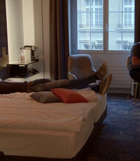 Steffi en Roel nippen aan champagne in romantisch Bern