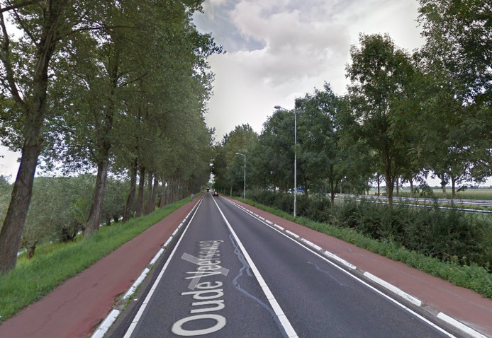 De Oude Veerseweg bij Oosterhout.