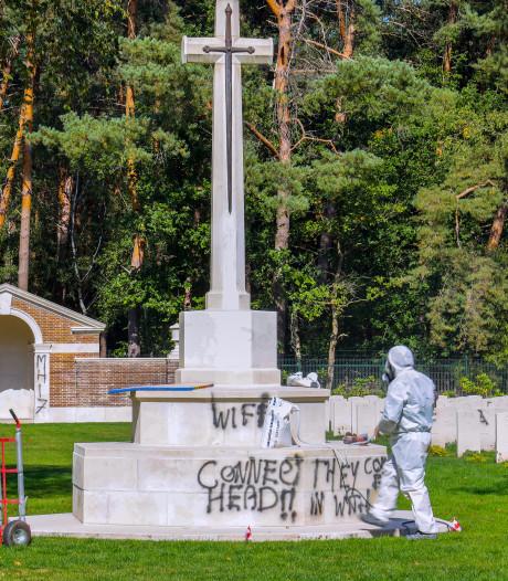 Zwijgende verdachte van bekladden oorlogsgraven Mierlo blijft vastzitten