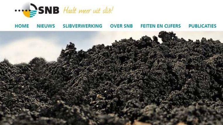 Screenshot van de site van SNB Beeld null