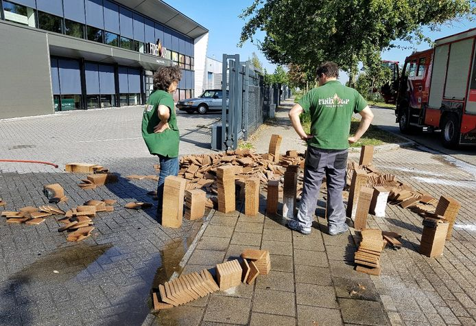 Weer brand bij aanmaakblokjesfabriek in Oisterwijk