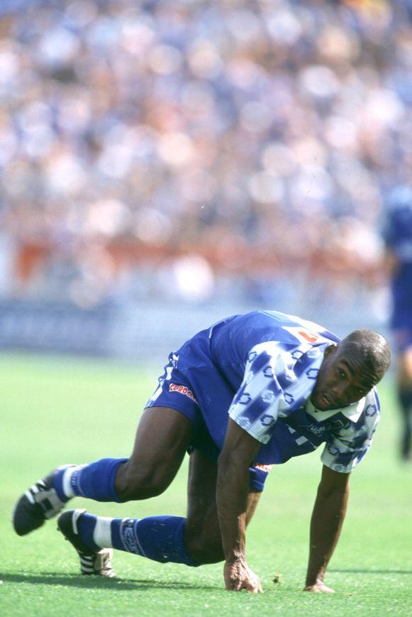 Souleymane Oulare, vader van, was één van de doelpuntenmakers tegen B36 Tórshavn.