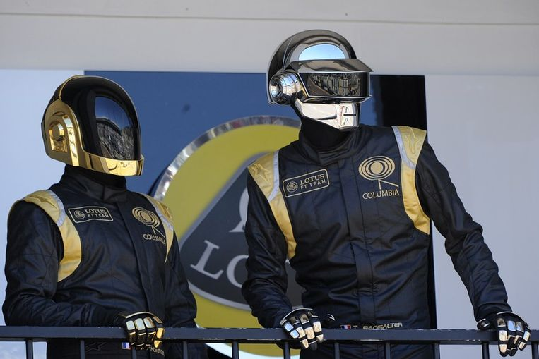 Daft Punk. Beeld afp