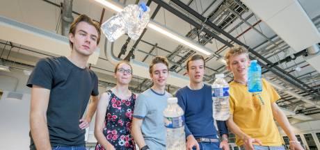 Twentse studenten ontdekken geheim achter 'water bottle flip'
