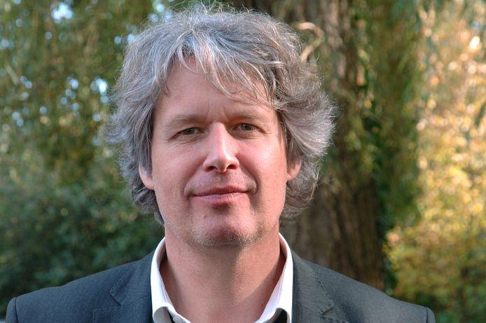 schepen Wout Maddens, co-voorzitter van de stuurgroep kanaal Bossuit-Kortrijk