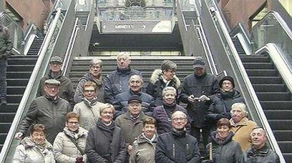 Okra Heizijde bezoekt station