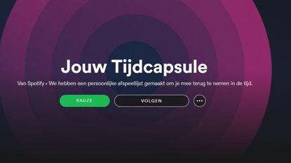 'Tijdcapsule' van Spotify speelt de soundtrack van je jeugd. Of toch niet?