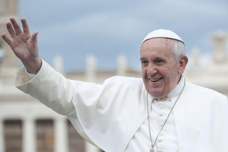 Paus Franciscus. Beeld Shutterstock