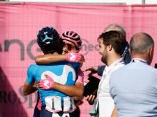 Giro-eindzege gloort voor Carapaz, Mollema steviger op de vijfde plaats