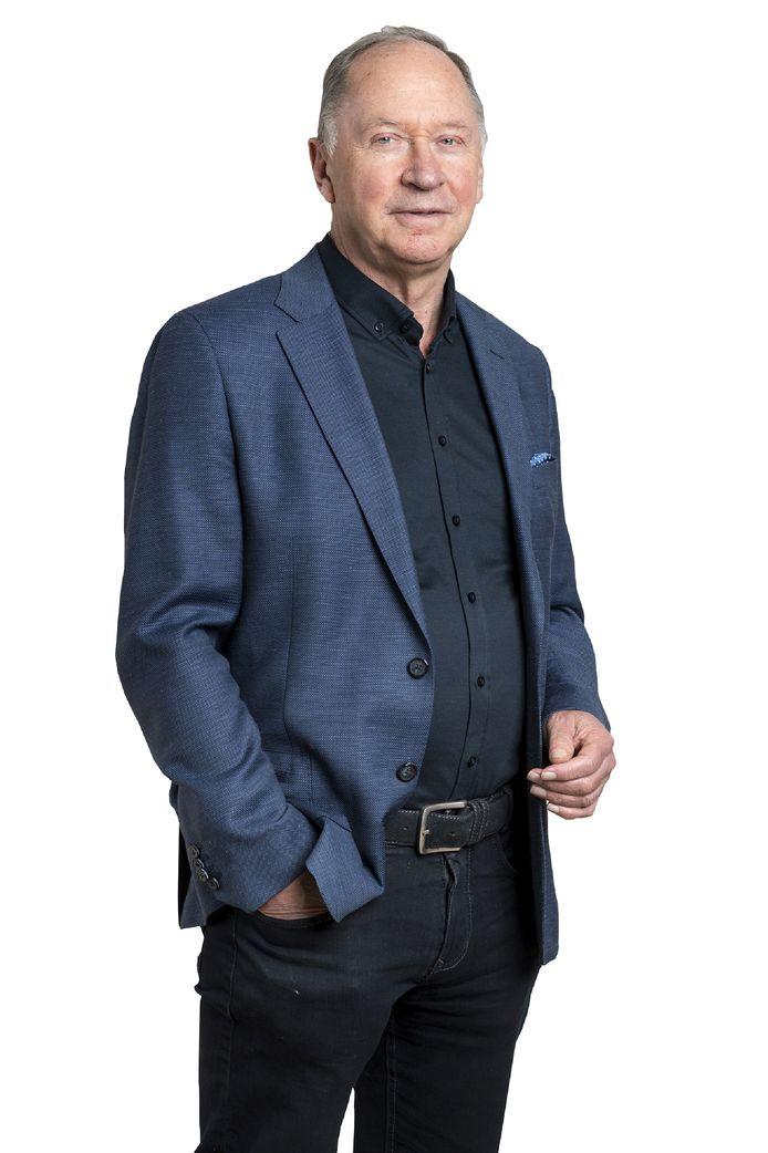 Nederland, Den Bosch, columnist sport Henk Mees AFGEKOCHT