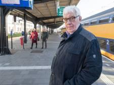Goese ouderenbonden balen van koud perron: 'Plaats overdekt wachthokje terug'