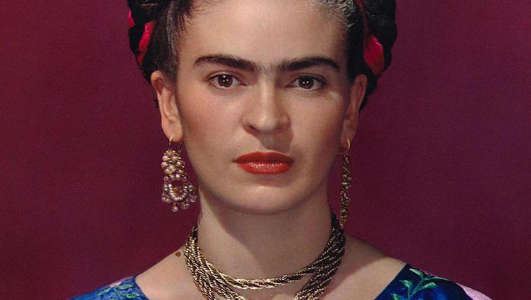 Kahlo staat bekend om haar kleurrijke kunstwerken Beeld anp