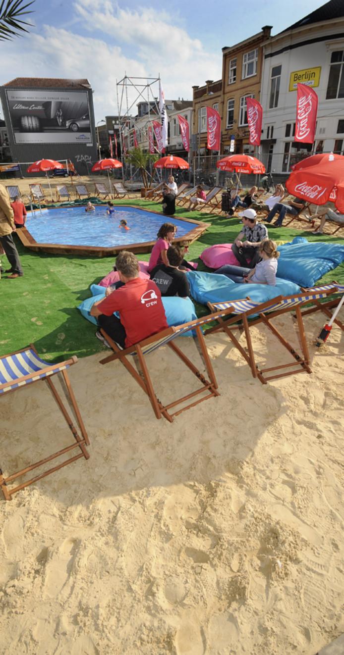 Het strand van Enschede. Foto Reinier van Willigen