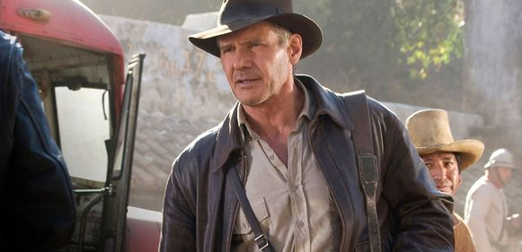 Harrison Ford in de vierde Indiana Jones-film