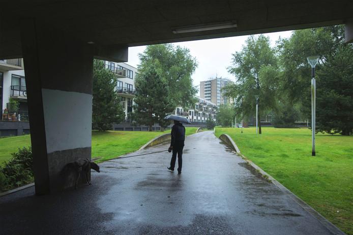 Het Allurapark - beter bekend als Teletubbiepark - gaat 's avonds op slot. Marie-Thérèse Kierkels/PVE