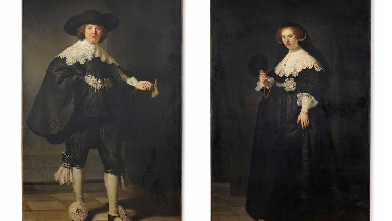 Volgens de kenner zou het Louvre haar Rembrandts 'erg verwaarlozen.' Beeld anp