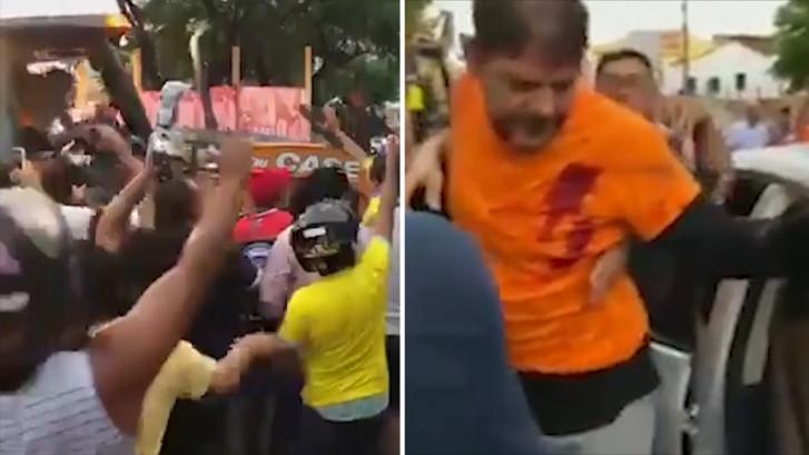 Braziliaanse senator neergeschoten nadat hij op agenten inreed