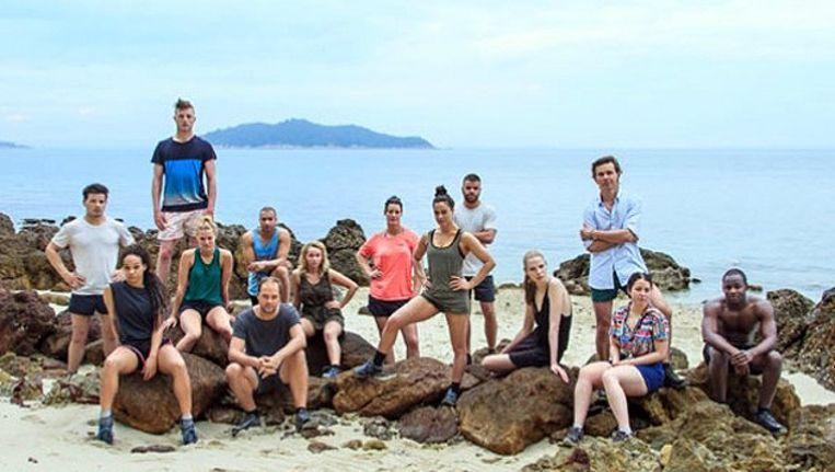 De deelnemers aan expeditie Robinson 2013 Beeld RTL