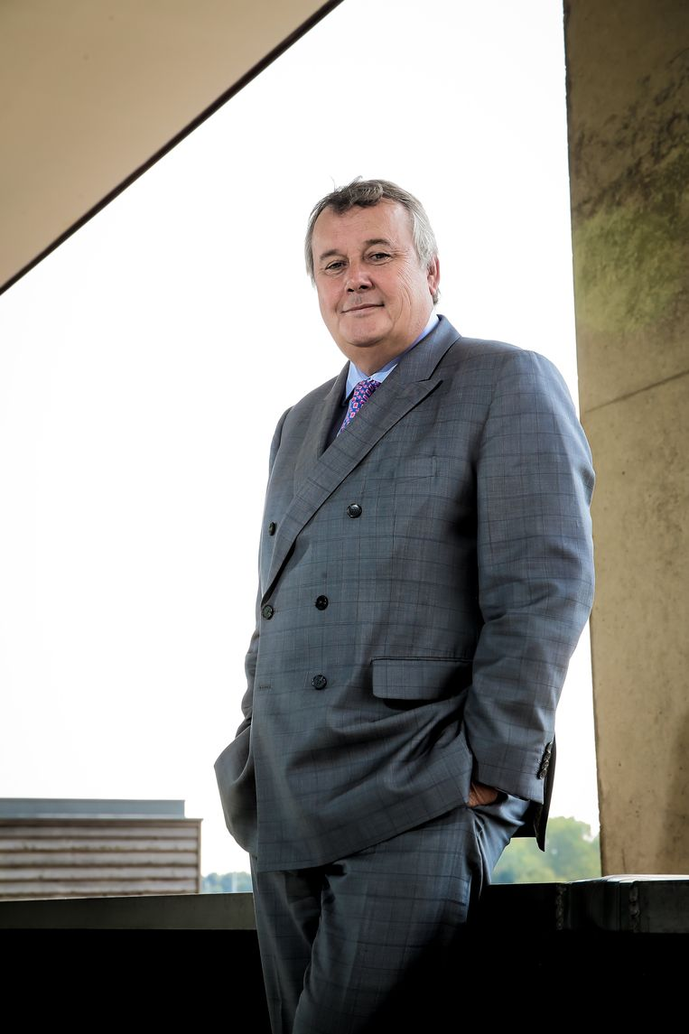 Voormalig CEO van de VRT, Paul Lembrechts. Beeld Photo News