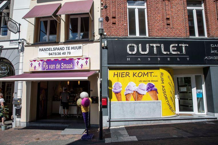 'IJs van de smaak' in Hasselt.
