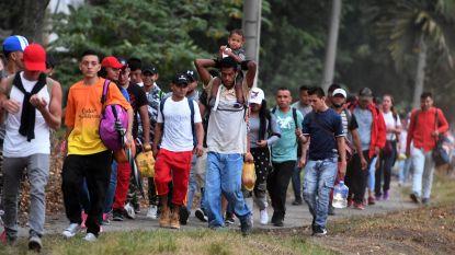 Opnieuw honderden Zuid-Amerikaanse migranten op weg naar VS