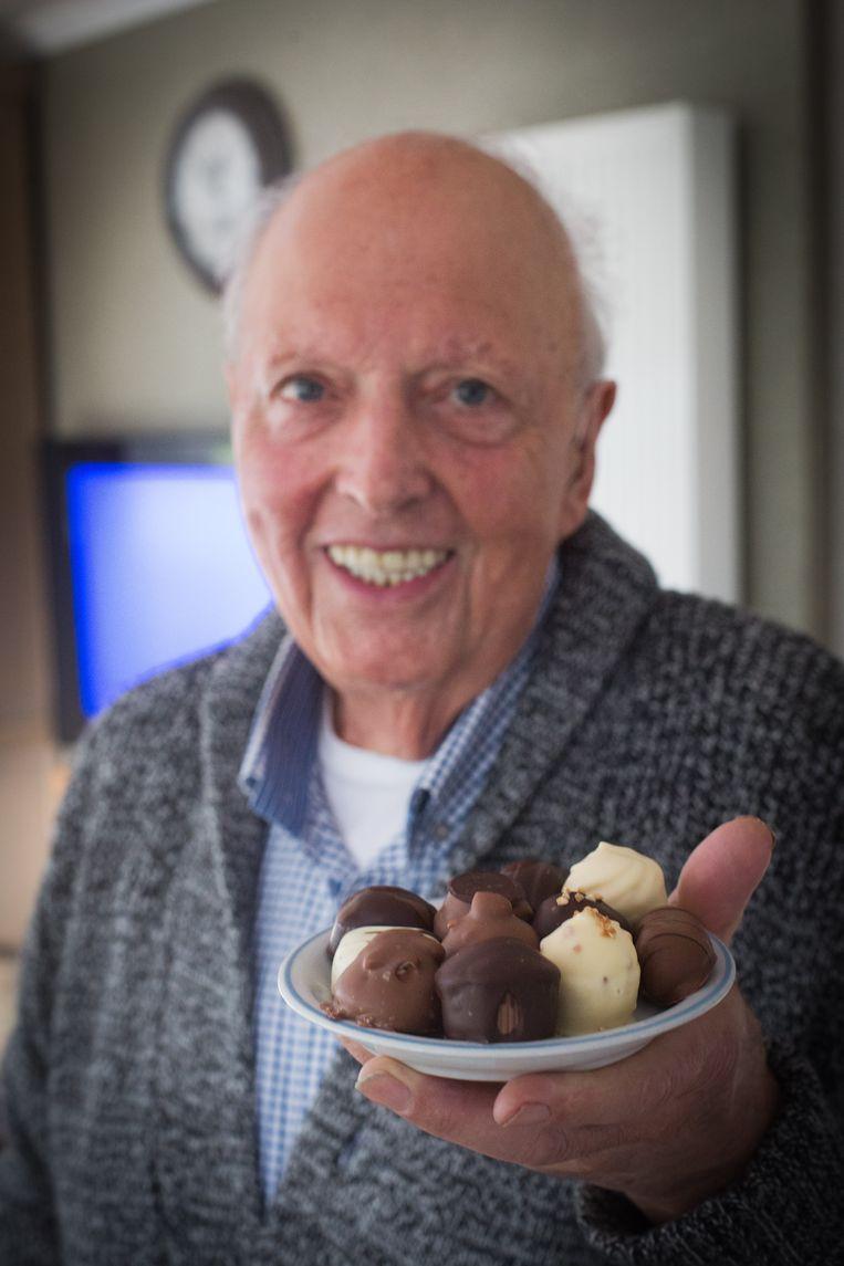 'De dikke bakker' tijdens zijn pensioen.