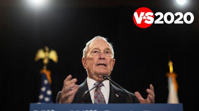 """""""Mike krijgt het voor elkaar"""", beloofde Bloomberg toen hij zelf nog presidentskandidaat was."""