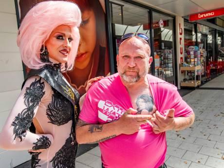 Vader Marino is trots op zijn zoon, dragqueen Tyra Crystal: 'We gaan overal mee naartoe'