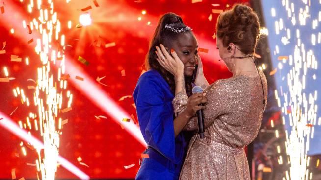 Grace wint 'The Voice Van Vlaanderen'!