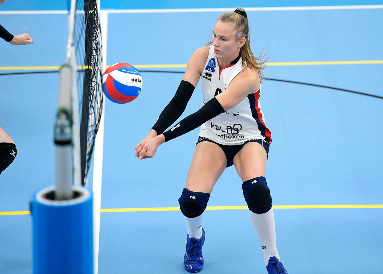 Sarah van Aalen, hier nog in het tenue van Sliedrecht Sport. Archiefbeeld.