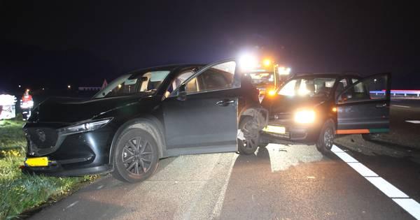 Drie auto's betrokken bij ongeval op A1 bij Holten.
