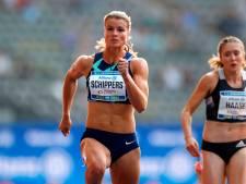 Schippers van start op 100 meter bij Gouden Spike Leiden